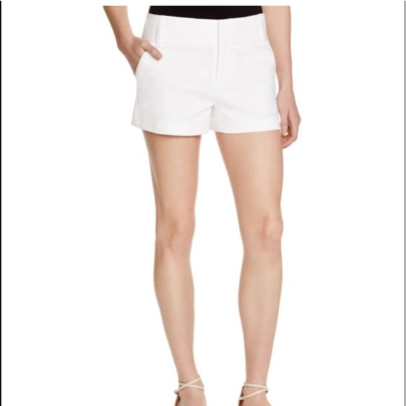 tailored shorts - White Alice & Olivia AIOd31